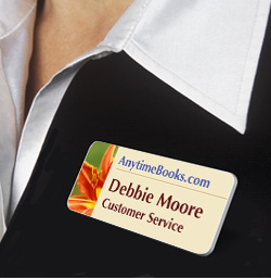 Custom name badges are a critical step in creating a welcoming environment.