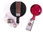 Retractable ID Badge Reels make it easy to grab your ID in a snap!