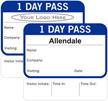 Custom 1-Day Pass for Visitors