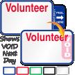 Tab-Expiring Volunteer Labels Book